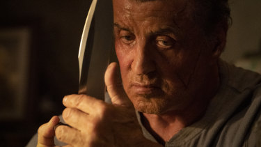 Sylvester Stallone's sheer stubborn conviction still fascinates in Rambo: Last Blood.