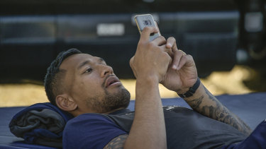 Anti-social media? Israel Folau is facing a very uncertain future.