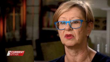 Sydney lawyer Vanessa Hutley on A Current Affair.
