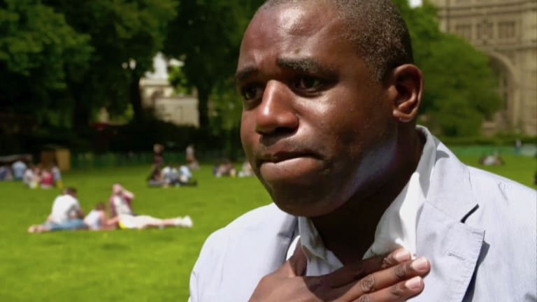 """Atrocious for Britain"": David Lammy."