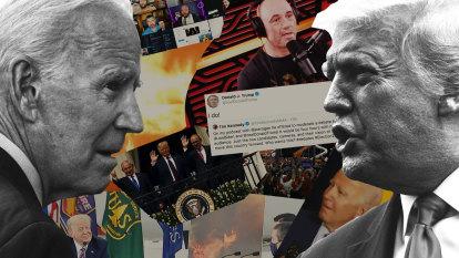 Trump's attacks on Biden's competency lead into strange territory