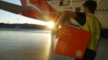 'Through the roof': Retailer flies in thousands of face masks as demand rockets