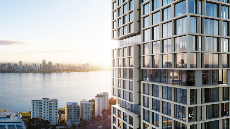 Sirona seals deal on $65 million apartment tower across from Perth Zoo - Sydney Morning Herald