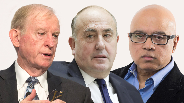 David Murray,John Fraser and Boe Pahari