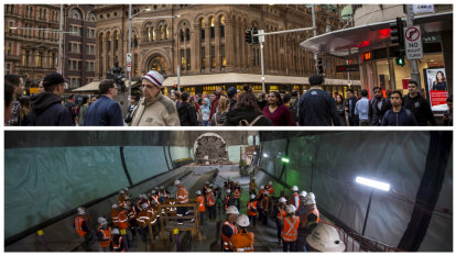 Tunnels carved beneath Sydney's busy streets offer glimpse of future