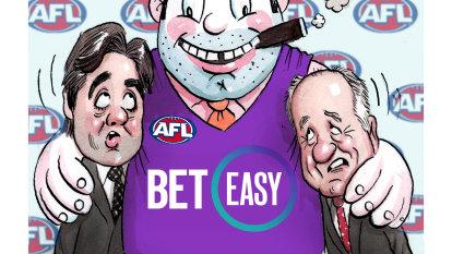 CBD Melbourne: AFL changes its bets