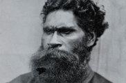 William Barak in an 1866 photograph.