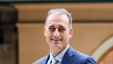 Wesfarmers chief executive Rob Scott.