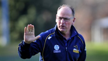 Former World Cup-winning South African coach Jake White called Rebels coach Dave Wessels and offered words of advice.