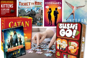 Board game shops have seen a rush on their products as people look for new entertainment options.