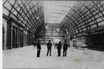 Significant landmark: the main concourse at Central Station, in 1906.