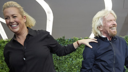 Social Seen: Sir Richard Branson's meditation class in Sydney skies