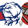 AFL 2021 as it happened: Western Bulldogs smash Essendon to set up clash with Brisbane Lions