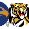 As it happened AFL 2021: Kennedy the hero as Eagles beat Tigers; Roos, Giants draw