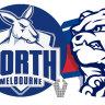 As it happened: AFL 2021: Bruce kicks 10, Bulldogs thump North Melbourne