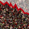 One day the world's population will start falling