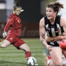 World Cup, Chelsea or Collingwood? Why Brianna Davey chose AFLW