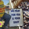 'Such a relief': WA joins rest of the nation in warding off anti-abortion picketers