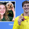 Smith's cold, lonely swim to Australia's first medal