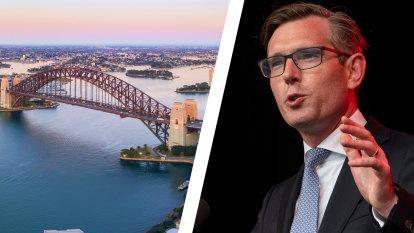 Sydney's natural beauty holding city back: NSW Treasurer