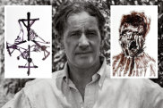 Sidney Nolan and his artworks.