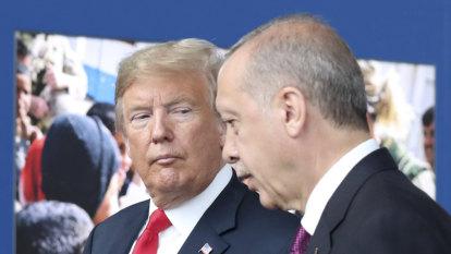 Trump readies Turkey sanctions hammer