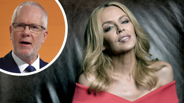 """Former ABC chairman Justin Milne thought it would have been """"cool"""" for Kylie Minogue to front a PR blitz for the broadcaster."""