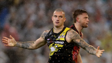 Dustin Martin has opened his home to new Tigers recruit Marlion Pickett.