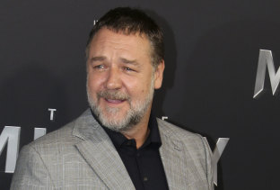 Backing a new studio: Russell Crowe.