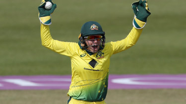 Alyssa Healy elevation to the top of the list worked a treat.