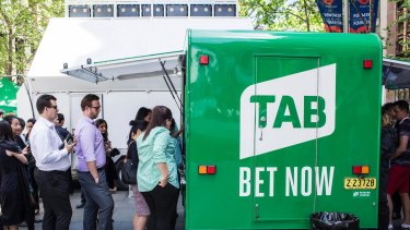 Tabcorp has taken a more aggressive approach to chasing a bigger market share.