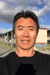 """Ta Sa Wong"" pictured inside Yongah Hill detention centre in Western Australia, not long before his deportation in August 2019."