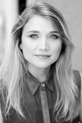 Katy Warner. One of three shortlisted Lysicrates playwrights.