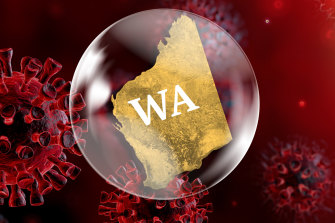 Bye bye bubble: Monday will mark the first time since WA closed its border on April 6, 2020, that it will be open to free travel between all states and territories.