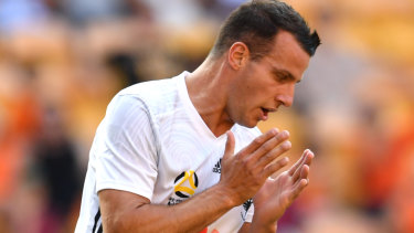 Shocker: Steven Taylor rues a missed chance that could have handed the Phoenix victory.