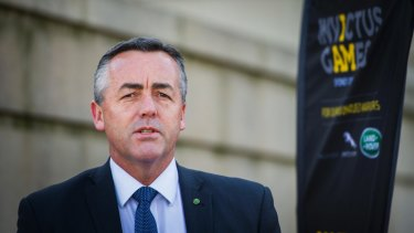 Minister for Veterans Affairs Darren Chester.