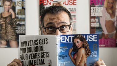 Damien Costas, publisher of Australian Penthouse, has been hit with questions from corporate watchdog ASIC.