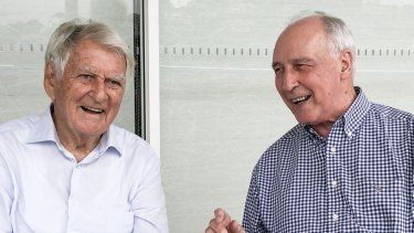 Former Labor prime ministers Bob Hawke and Paul Keating recently reunited to write in support of Bill Shorten's economic credentials.