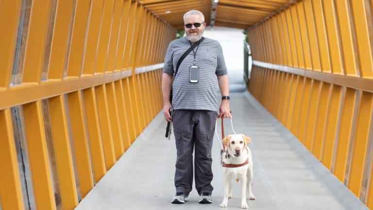 David Woodbridge. national assistive technology advisor for Vision Australia.