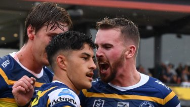 The Parramatta Eels believe they have turned the corner.