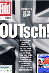 Bild is Germany's biggest newspaper.