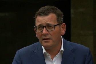 Victorian Premier Daniel Andrews has announced a new crisis cabinet.