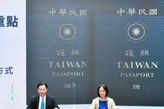 Taiwan authorities have launched a new Taiwan passport that minimises the mention of China.