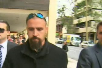 Killer driver Mitchell Walsh was back in court on Friday.