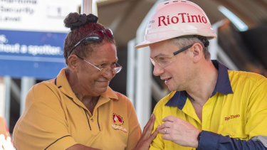 Rio chief executive Jean-SebastienJacques, at the Amrun mine opening ceremony, said there was such a significant reserve in the area that it could potentially last for decades beyond its 40-year lease.