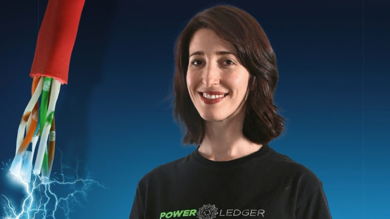 Jemma Green, president of Power Ledger.