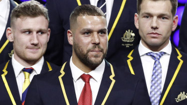 Lance Franklin was named All Australian captain this year.