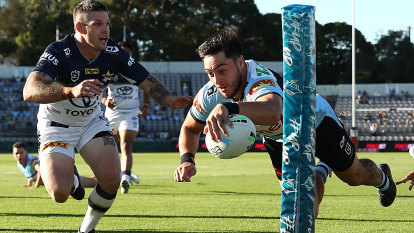 'Executed the game plan perfectly': Morris building irresistible case for new Cronulla contract