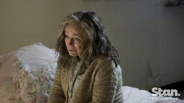 Jacki Weaver as Gwen Reed in Bloom, coming from Stan in January.