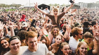 Canberra's Groovin' the Moo festival, which was widely lauded for allowing a nation-first pill testing trial.